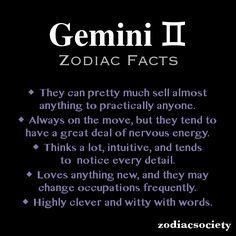 Gemini Zodiac Facts, so funny! Kyle is a Gemini and anyone knows the first line describes him to a T! Gemini Sun Scorpio Moon, Gemini Rising, Gemini And Cancer, Gemini Star, Gemini Quotes, Zodiac Signs Gemini, Zodiac Facts, True Quotes, Gemini Traits