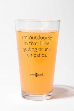 Outdoorsy ;)