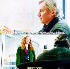 So, how does it feel to finally be chosen before Regina? / Rumple & Zelena / 7.17 / by oncerscene (instagram)
