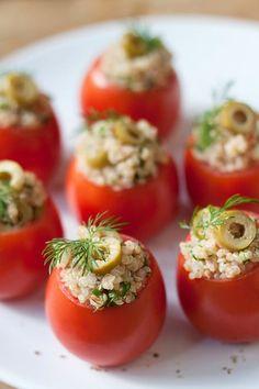 Quinoa Stuffed Tomatoes