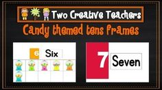 Two Creative Teachers - Ten Frames Pack $4.00 This product contains tens frames for the numbers 1- 20. It is a great tool for helping students learn automatic recall of number facts to 20. It is also a great tool to help children to visualise. Each frame also has a number in words as well as a numeral representation. #twocreativeteachers #printable