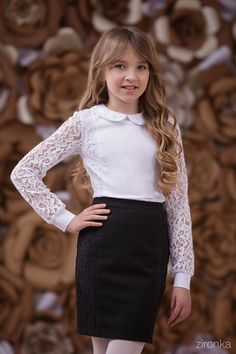 Блузка для девочки 3633-1