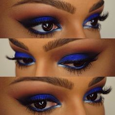 Gorgeous Makeup: Tips and Tricks With Eye Makeup and Eyeshadow – Makeup Design Ideas Gorgeous Makeup, Love Makeup, Makeup Inspo, Beauty Makeup, Hair Makeup, Blue Makeup Looks, Eyelashes Makeup, Natural Eyelashes, Gorgeous Eyes