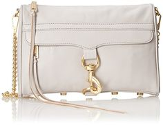 Rebecca Minkoff Mac Convertible Cross Body Bag, Putty, One Size Rebecca Minkoff http://www.amazon.com/dp/B00O643ACG/ref=cm_sw_r_pi_dp_.dLpvb1CSD5TQ