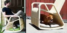 Pet owners,  Inventor is looking to produce these chairs.  Would your pets rock?  It certainly would make a great memory point in a pet friendly apartment community.