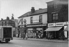 Stockport Road The Shops Tv Shopping, Derbyshire, Good Old, Manchester, Monochrome, England, Street View, History, Memories