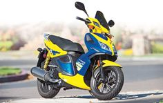 Kymco Super 8 150 - First Ride