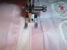 Preparing Lace - & Washable Glue Trick