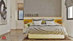 Modern House, Modern Bedroom, Ho Chi Minh City, Vietnam. Designed by Gil Design. Gildesign.vn
