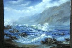 Do you enjoy painting seascapes but can't seem to get enough depth? Watch Kevin as he shows you how to paint this vibrant seascape with details such as crashing waves and rocks that add both interest and depth to the painting. For more information about seascape DVDs, go to www.paintwithkevin.com