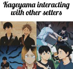 Haikyuu Kageyama, Haikyuu Funny, Haikyuu Manga, Haikyuu Fanart, Haikyuu Characters, Anime Characters, Anime Rules, Netflix Anime, A Silent Voice