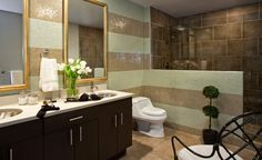 Master Bathroom | Victory Lofts @ Channelside, Tampa FL | By NUVO DESIGN  INTERIORS Tampa