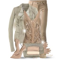 Leather Makes Her Blush, created by rockreborn on Polyvore