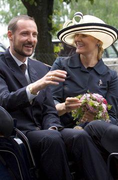 Prince Haakon and Princess Mette Marit