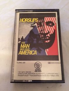 The Man Who Built America by Horselips Cassette Tape 1979 Dick James Music RARE #PopRock