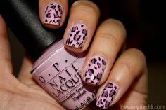 7 Cute Leopard print nails Design | Gallery Nail Art Design