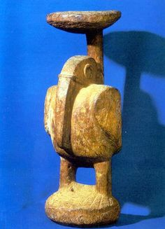 Zemi carving on staff (Yucahu?), Jamaican Taino culture, Collection: National Gallery of Jamaica