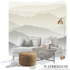 How To Wear Wanderlust wall mural... Outfit Idea 2017 - Fashion Trends Ready To Wear For Plus Size, Curvy Women Over 20, 30, 40, 50