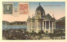 Palácio Monroe (cartão-postal) - A cidade do Rio de Janeiro no século XX/Primeira metade do século XX - Wikilivros