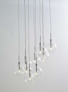 Clear Dee 10 light cluster - BHS