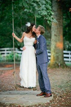 wedding couple at cedarwood