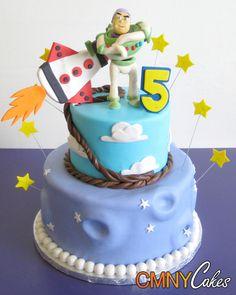 Buzz Lightyear Birthday Cake Mickey Mouse Parties, Mickey Mouse Birthday, Minnie Mouse, Pirate Birthday, Birthday Cake, Pirate Party, Birthday Ideas, Toy Story Party, Toy Story Birthday