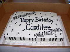 piano cake idea