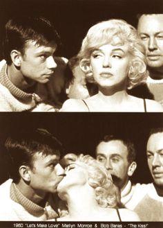 Bobby Banas and Marilyn Monroe