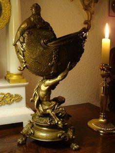Bronze Nautilus Pokal Figur Satyr Faun Fabelwesen Renaissance 19.Jh Historismus | Antiquitäten & Kunst, Metallobjekte, Bronze | eBay! Nautilus, Renaissance, Bronze, Ebay, Amp, Design, Art History, Magical Creatures, Baroque