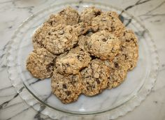 Healthy Chocolate Chip Oatmeal Cookies Recipe