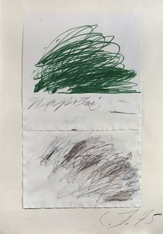 Love! Like! Share! justanothermasterpiece: Cy Twombly.