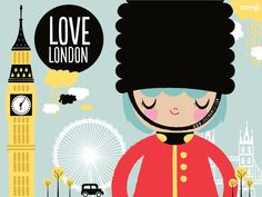 Momiji Lilibet I Love London