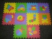 podloga  pena puzzle 10,80€ Pri nakupu nad 50€ POŠTNINE NI :)