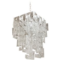 Mazzega by Carlo Nason Chandelier at 1stdibs