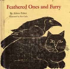 my vintage book collection (in blog form).: In the shop..... Feathered Ones and Furry - illustrated by Eric Carle
