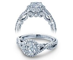INSIGNIA-7070R engagement ring from The Insignia Collection of diamond engagement rings by Verragio