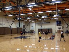 Creston High School Gym, opened in 1980.