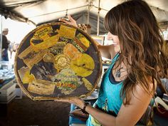 Removing the Stink - Travel With the Junk Gypsies to Flea Markets on HGTV . . . {junk gypsy co. - http://gypsyville.com/ }
