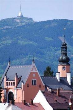 Český Dub town in Lužické mountains, Czechia #town #travel #Czechia