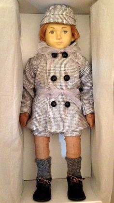 Nini Doll Emile in his box.
