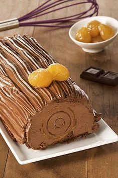 Ρολό Σοκολάτας με Κάστανο | ION Sweets