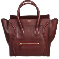 Pre-owned Celine Tote ($2,196) ❤ liked on Polyvore featuring bags, handbags, tote bags, accessories, purses, totes, apparel & accessories, tote handbags, wallets & cases and red tote