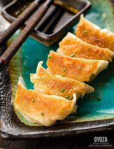 Gyoza (Japanese pan-fried dumplings) | Easy Japanese Recipes at JustOneCookbook.com