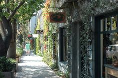 carmel by the sea village - Wonderful little town with great shops and beautiful little cottages straight out of a fairytale.