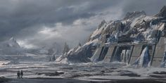 ArtStation - ColdBase, Pablo Dominguez