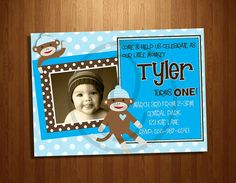 This is cute...trying to figure out a theme for the boys first birthday. May do monkeys?? : ))