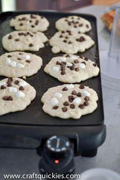 S'more pancakes recipe
