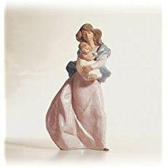 Lladro Life's Small Wonders Grers Matt Mother and Child