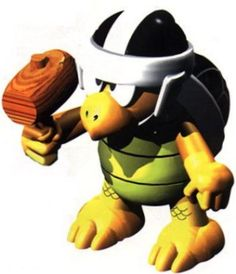 Hammer Bro Super Mario Brothers, Mario Bros, Hammer Bro, Super Mario Rpg, The Brethren, The Seven, Super Nintendo, Tigger, Bowser