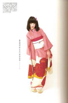 Kimono-hime issue 7. Fashion shoot page 13 by Satomi Grim, via Flickr